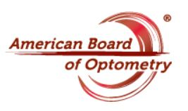 American Board of Optometry logo